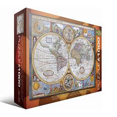 Eurographics Inc Antique World Map: 1000 Pcs