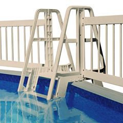 Vinyl Works Pool Ladder/Step to Fence Connector Kit - Taupe