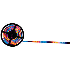 The Install Bay 5MRGB-1 LED Strip Light with 16 Selectable Colors; 5m