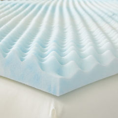 Resftul Solutions Supreme Textured 2 Inch GEL Memory Foam Topper