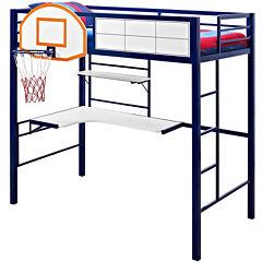 Basketball Twin Loft Bed