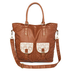 Arizona Large Double-Pocket Crossbody Tote