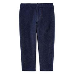 Okie Dokie® Knit Denim Leggings - Baby Girls newborn-24m