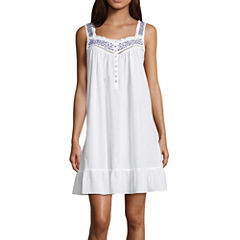 Adonna Sleeveless Pattern Nightgown