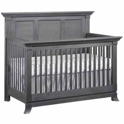 Ozlo Baby Pendleton 4 In 1 Convertible Crib   Marble Gray