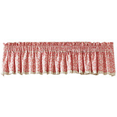 MaryJane's Home Garden View Lined Valance