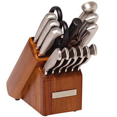 Sabatier® 15-pc. Stainless Steel Knife Set