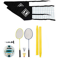 Franklin Sports Quik-Set Volleyball/Badminton