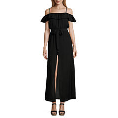 Love ReignsOff The ShoulderMaxi Dress-Juniors