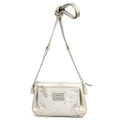Nicole By Nicole Miller Suzie Quilted Mini Crossbody Crossbody Wallet
