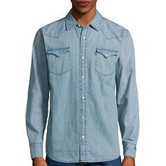 Levi's® Long-Sleeve Denim Woven Shirt