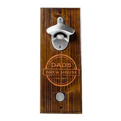 Cathy's Concepts Personalized Dad's Brew Wall Mount Bottle Opener