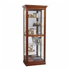 Home Meridian Sliding  Curio Curio Cabinet