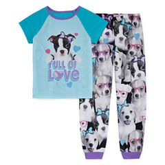Jelli Fish Kids Sleep Shop 2-pc. Pant Pajama Set Girls