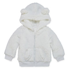 Arizona Girls Teddy Bear Jacket-Baby