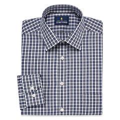 Stafford Travel Easy-Care Broadcloth Long Sleeve Dress Shirt - Big and Tall