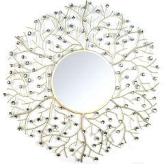Stratton Home Décor Acrylic Eloise Wall Mirror