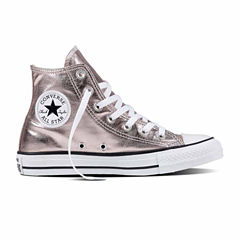 Converse Chuck Taylor All Star High-Top Metallic Womens Sneakers-- Unisex Sizing