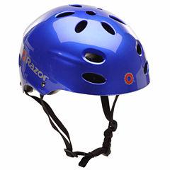 Kent Razor V17 Youth Gloss Helmet, Blue
