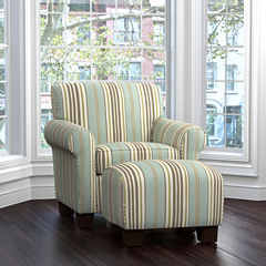 Winnetka Chair and Ottoman