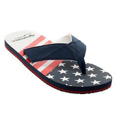 Arizona Stars and Stripes Flip Flops