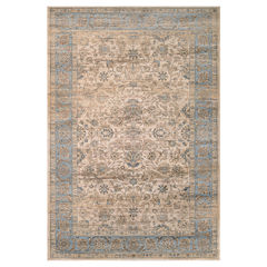 Couristan™ Embellished Blossom Rectangular Rug