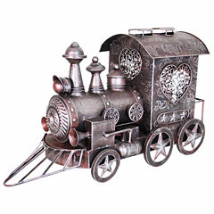 Metal Train Figurine