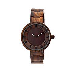 Earth Wood Root Dark Brown Bracelet Watch ETHEW2502