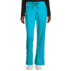 WonderWink® Womens Grace Flare-Leg Pants - Petite