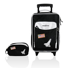 Obersee® Kids 2-pc. Space Luggage & Toiletry Set
