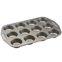 Circulon® 12-Cup Nonstick Muffin Pan