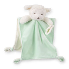 Carter's® Plush Sheep Blanket with Pacifier Loop