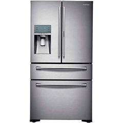 Samsung ENERGY STAR® 22.4 cu. ft. Counter Depth 4-Door Food Showcase French Door Refrigerator