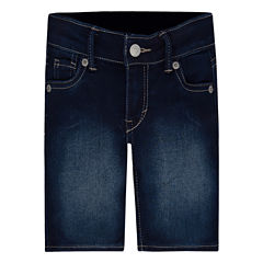 Levi's Denim Bermuda Shorts - Preschool Girls