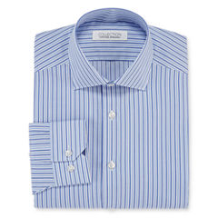 Collection by Michael Strahan Cotton Long-Sleeve Dress Shirt Big & Tall