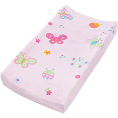 Summer Infant® Plush Pals Changing Pad Cover - Butterfly Ladybug