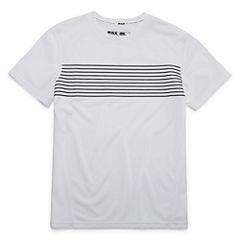 Msx By Michael Strahan Short Sleeve Crew Neck T-Shirt-Big Kid Boys