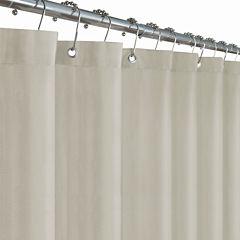 Maytex Mills Herringbone Woven Shower Curtain Liner