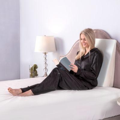 sensorpedic bed wedge pillow
