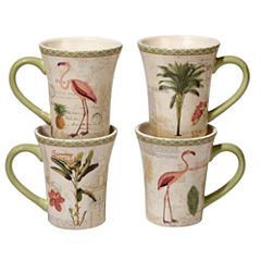 Certified International Floridian 4-pc. Coffee Mug