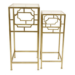 Decor Therapy 2-Drawer 2-Drawer Console Table