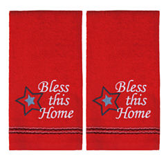 Saturday Knight 2-Pack Bless This Home Hand Towel