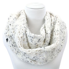 Cuddl Duds Super Cozy and Ultra Soft 2-Tone Color Knit Infinity Scarf