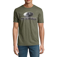 Mossy Oak® Short-Sleeve Cast Metal Logo Tee