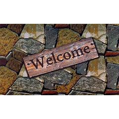 Achim Quarry Stone Rectangular Doormat