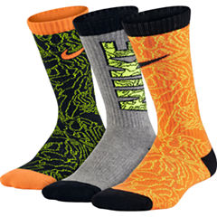 Nike® 3-pk. Graphic Crew Socks - Boys