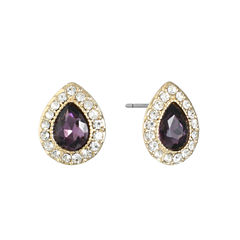Monet Jewelry Purple Stud Earrings