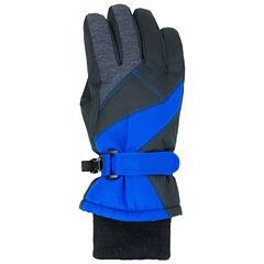 Long Cuff Ski Gloves - Boys