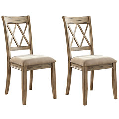 Signature Design By AshleyR Madison Set Of 2 Dining Side Chairs