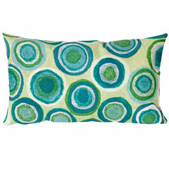 Liora Manne Visions Ii Puddle Dot Rectangular Outdoor Pillow